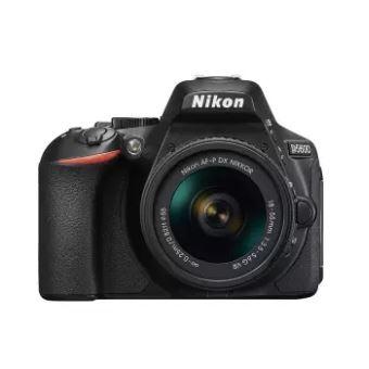 Nikon กล้อง DSLR รุ่น D5600 BK SG AF-P 18-55 VR KIT