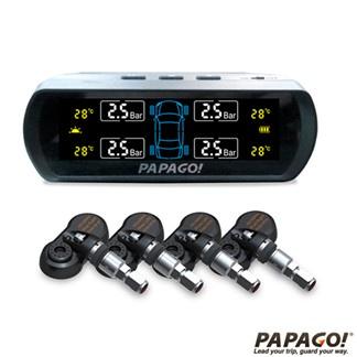 PAPAGO! 無線太陽能胎內式胎壓偵測器 TireSafe S60I