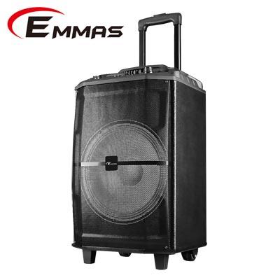 【EMMAS】拉桿移動式藍芽無線喇叭(T88)