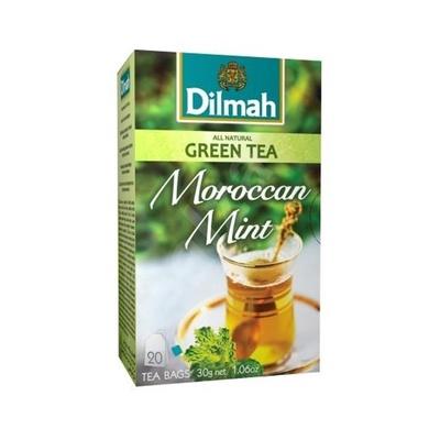 Dilmah   Moroccan Mint Green Tea 20 Teabags