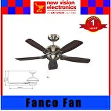 Fanco Ceiling Fan Titanium Air Vox 42-inch