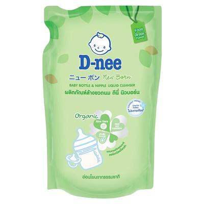 D-Nee | น้ำยาล้างขวดนมเด็ก ออร์แกนิค ถุงเติม 600 มล.