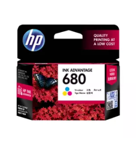 HP | หมึกพิมพ์ HP 680 TRI-COLOR INK ADVANTAGE CARTRIDGES (F6V26AA)