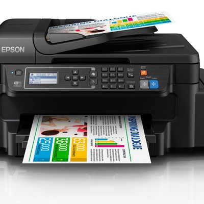 Epson 八合一連續供墨印表機 L655