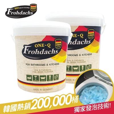 德國OneQ Frohdachs 馬桶/水管/水槽泡沫清潔霸