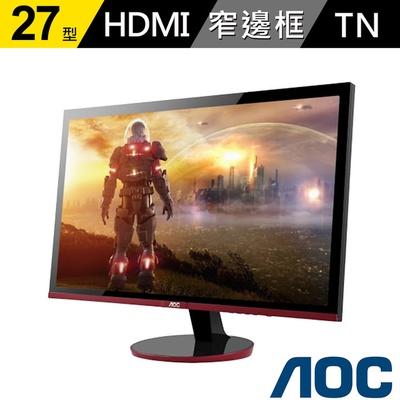 【AOC】G2778VQ 27型 電競 窄邊框設計螢幕