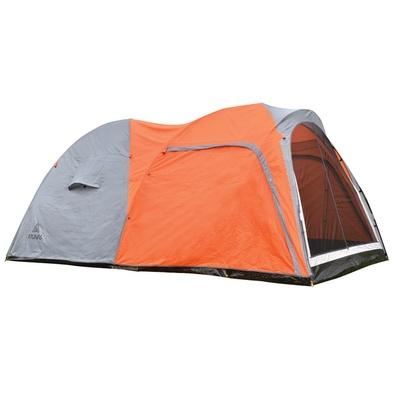 【ATUNAS 歐都納】4-5人一房一廳露營帳篷(A-TENT1502 柑灰)