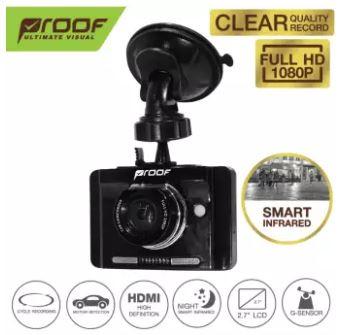 กล้องติดรถยนต์ PF360 Clear Full HD with Smart Infrared