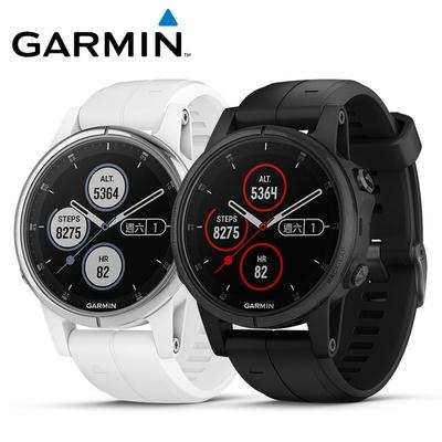 【GARMIN】fenix 5S Plus 行動支付音樂GPS複合式心率腕錶