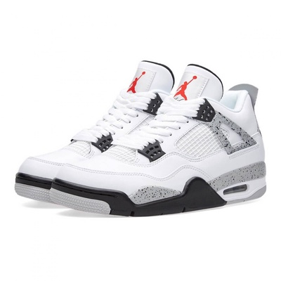NIKE | รองเท้าผ้าใบ Nike Air Jordan 4 Retro High OG AJ4 Original Basketball Shoes