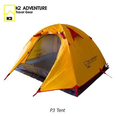 K2 | เต็นท์สนาม สำหรับนอน 2-3 คน รุ่น Adventure P3