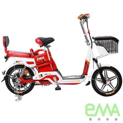 【EMA雲馬】EMA A+ 電動 48鉛酸 LED 後雙避震 電動輔助自行車