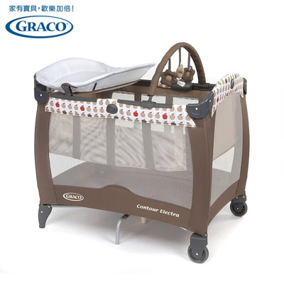 【Graco】舒適嬰幼兒電動安撫遊戲床