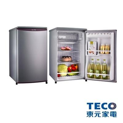 TECO東元91公升單門小鮮綠冰箱R1061LA   /  R1061SC
