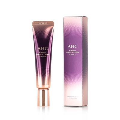 AHC Ageless Real Eye Cream For Face   เอเอชซี ครีมบำรุงรอบดวงตาทาหน้าได้