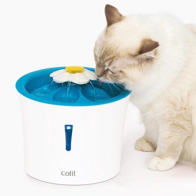 Catit | นำ้พุแมว ขนาด 3 ลิตร รุ่น Flower Fountain