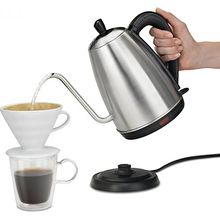 Hamilton Beach Electric Gooseneck Kettle, 1.2 Liter (40899)