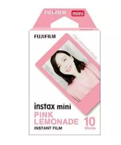 FUJI | ฟิล์มโพลารอยด์ Fujifilm Instax mini Pink Lemonade (ฟิล์มขอบชมพู) จำนวน 10 แผ่น