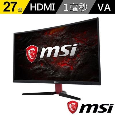 【MSI 微星】Optix G27C2 27型曲面電競螢幕