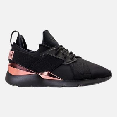 Puma | รองเท้าผ้าใบ Puma Muse Metal Sneakers