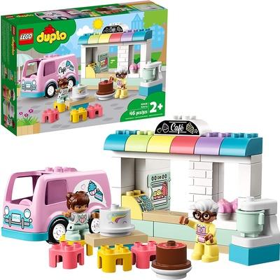 LEGO | ตัวต่อเสริมทักษะ Bakery Theme DUPLO Town รุ่น 10928
