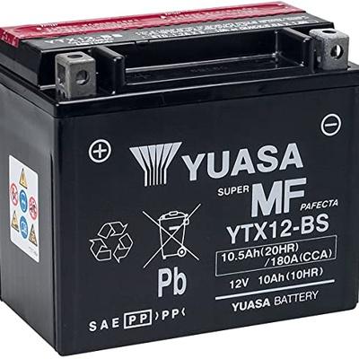 Yuasa | YTX12-BS Motorcycle Battery