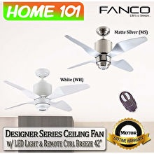Fanco Ceiling Fan  Designer Breeze 42-inch
