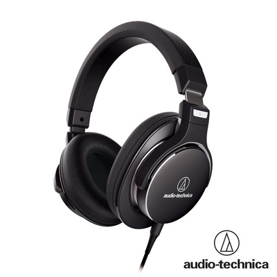 audio-technica鐵三角 抗操音頭戴式折疊耳機 ATH-MSR7NC