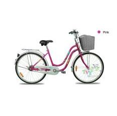 LA Bicycle   จักรยานแม่บ้าน LA Bicycle รุ่น Smile 24