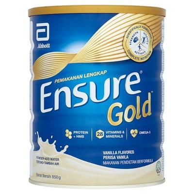 Ensure Gold Complete Nutrition Powder (Vanilla) 850g