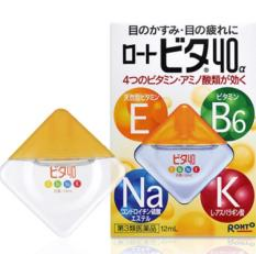 Rohto | น้ำตาเทียมสูตรเย็นจากประเทศญี่ปุ่น Rohto Vita 40