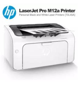HP | เครื่องปริ้นท์ HP LaserJet Pro M12w Printer (T0L46A)