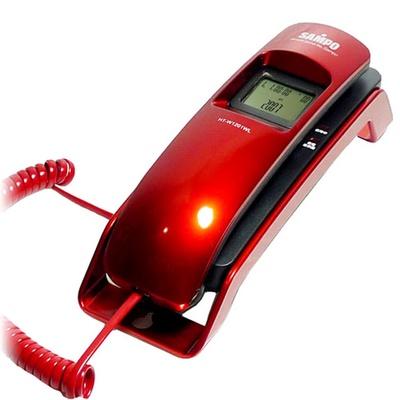 【SAMPO聲寶】來電顯示有線電話 HT-W1201WL