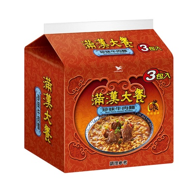【滿漢大餐】珍味牛肉袋裝/碗裝