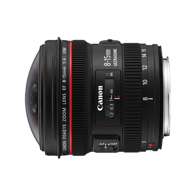 Canon 佳能  EF 8-15mm f/4L fisheye USM 魚眼鏡頭