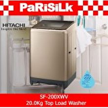 Hitachi SF-200XWV 20.0Kg Top Load Washer