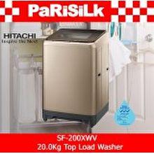 Hitachi SF-200XWV 20.0Kg Top Load Washer