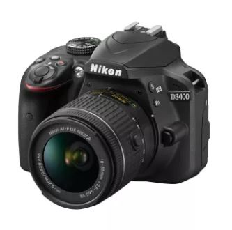 Nikon D3400 Black 18-55 VR II KIT