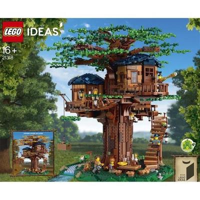 【LEGO 樂高】樹屋 IDEAS 系列 (21318)