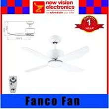 Fanco Ceiling Fan  Platinum I-Con 40-inch (4 Blades)