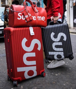 SUPREME | กระเป๋าเดินทาง Supreme X Rimowa Topas Multiwheel suitcase Luggage 24-26 Inches