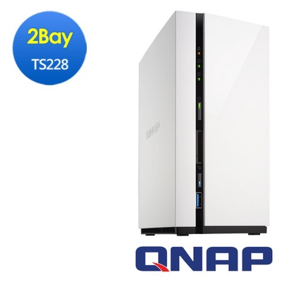 【QNAP威聯通】TS-228 2Bay Nas網路儲存伺服器