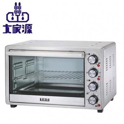 【大家源】35L雙溫控旋風專業電烤箱(TCY-3835)