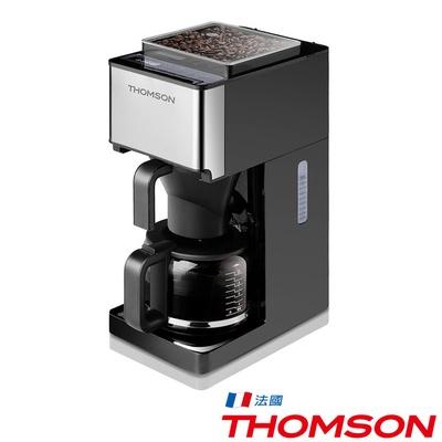 【THOMSON】錐磨全自動研磨咖啡機(TM-SAL04DA)