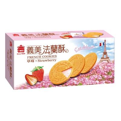【義美】法蘭酥-草莓