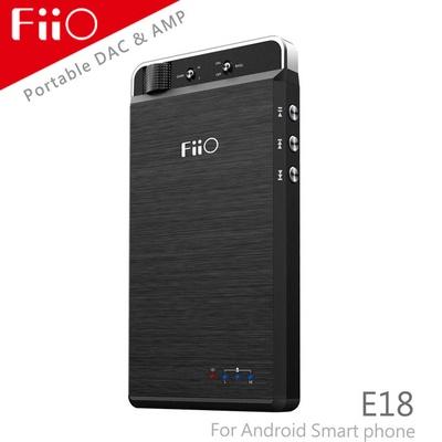 【FiiO】E18隨身Android USB DAC耳機功率擴大器