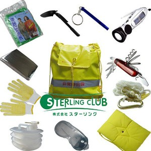 STERLiNG CLUB  地震防災包