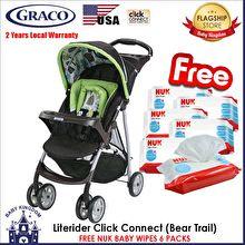 Graco LiteRider Stroller Bear Trail
