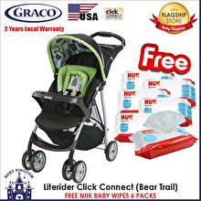 Graco LiteRider Stroller Bear Trail