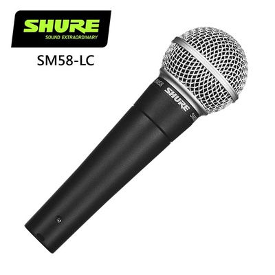 Shure | SM58-LC Cardioid Dynamic Vocal Microphone